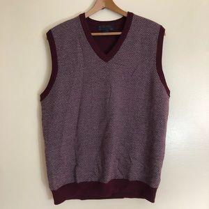 Brooks Brothers Italian Marino Wool Sweater Vest